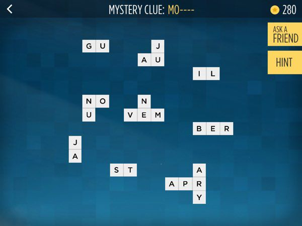 Similar to Bonza Word Puzzle, the new Bonza National Geographic includes mystery clues that require you to guess what the clue is as you play it.