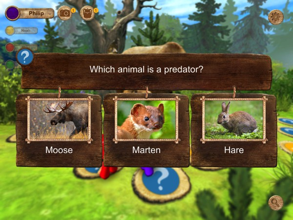 We Discover Wildlife: Forest Quest is a family board game where players can learn fun facts about forest animals