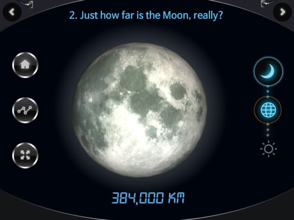 Understanding how far the Moon and the Sun are from the Earth helps us to understand how the positions of these objects influence the moon phases.