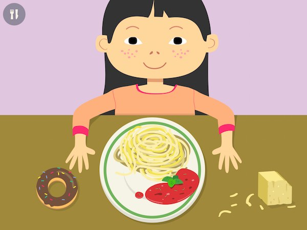 Learn all there is to know about food and nutrition in This is my food - Nutrition for kids