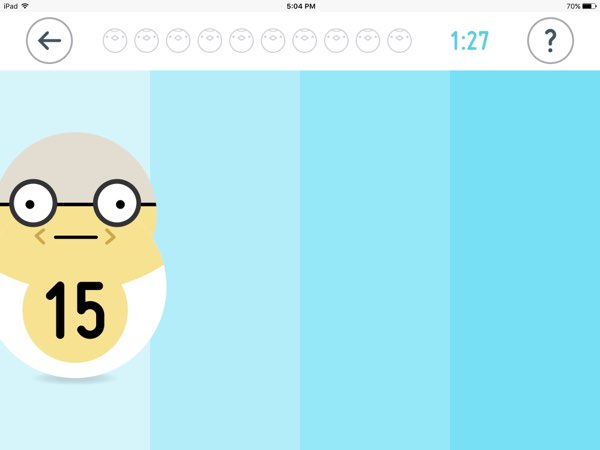 The game has five additional characters, from 11 to 15, that you unlock by trying out different combinations.