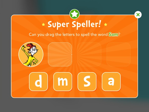 The app includes 30+ mini games that help kids practice spelling, phonics, and reading comprehension