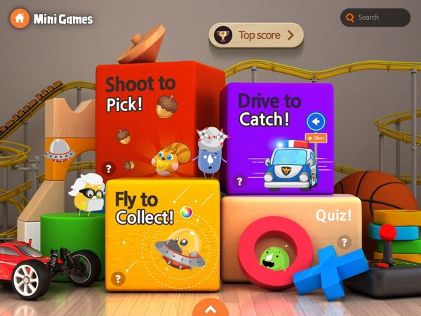 Meet Science: Force and Motion also includes fun mini games designed specifically around the topic of force and motion.