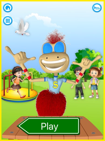 Sammi Signs introduces you to 25 sign language words that you'd typically say or find when you're playing in the park.