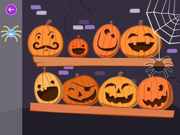 Wee Halloween Puzzles offer five fun and colorful jigsaw puzzles for toddlers ages 2+ to play during the Halloween holidays.