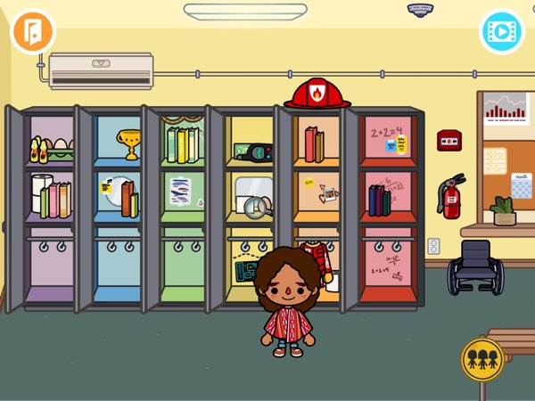 Toca Life: School allows kids to tell stories about their experience at school.