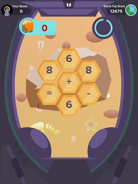 Zap Zap Math offers fresh and fun game mechanics to let you practice your higher-order thinking skills.