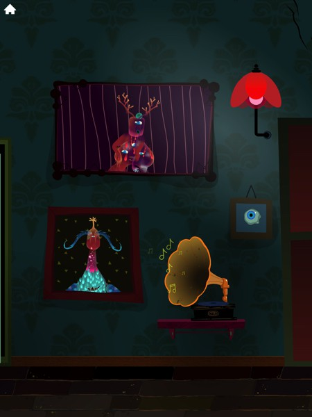 You can feed, play, and even take a selfie with your monsters in the haunted gallery