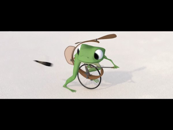 Another character in the story is a frog who leads his friends in an attempt to help the old whale complete his mission.