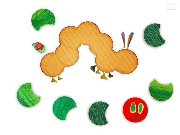 The Very Hungry Caterpillar - Shapes and Colors offers an endless set of mini games for kids to learn and practice their understanding of shapes and colors.