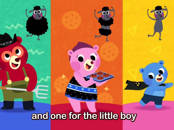 PINKFONG Mother Goose offers music videos featuring popular nursery rhymes