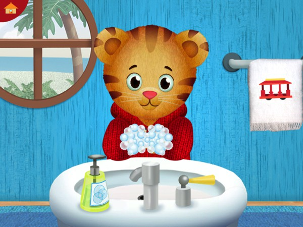 Daniel Tiger's Stop & Go Potty teaches kids to stop playing when they need to go to the bathroom