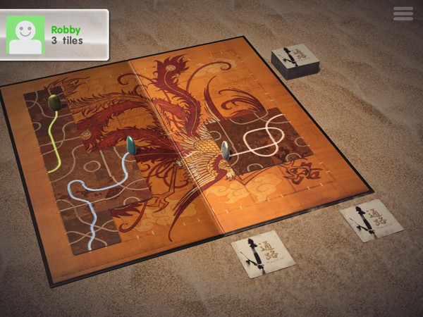 Tsuro is a beautiful path-finding game for all ages