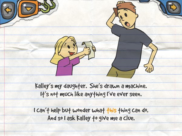 Kalley's Machine Plus Cats is based on the real-life experience of Kalley and her dad.