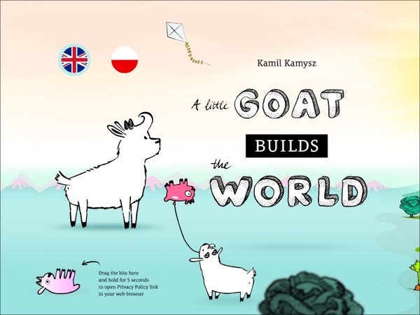 A Little Goat Builds the World is a cute storybook app that allows you to tell your own version of the story.