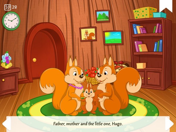 Little Stories allows you to personalize fairy tales with your child's name.