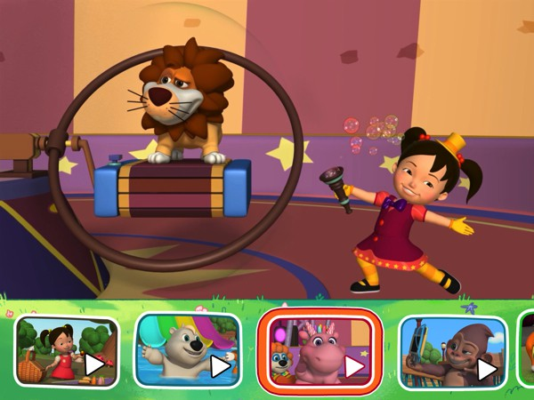 Made for preschoolers, the series feature a lighthearted plot and plenty of humor