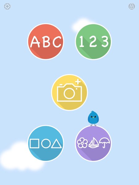 Other than the default modes, Blue Bird Academy also allows you to customize the reveal order and which modes you want your kids to play with.