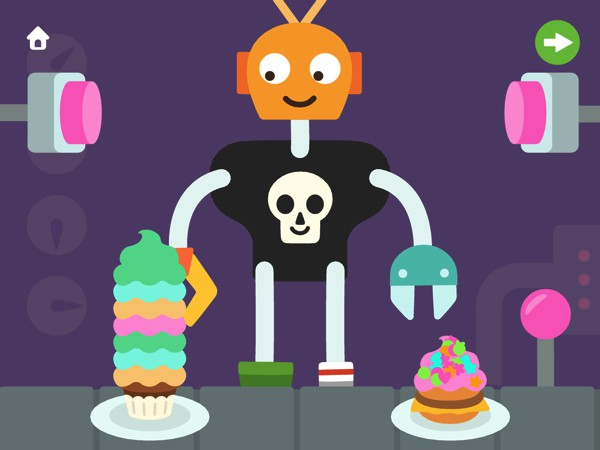 Build robots, make cupcakes, and have a dance party in Sago Mini Robot Party