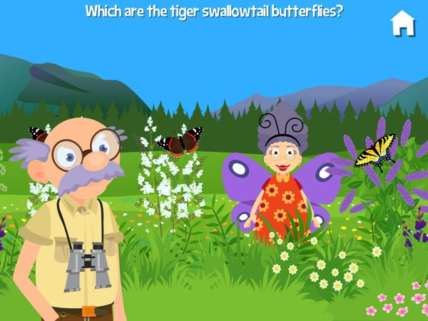 The app has plenty of silly moments as usual, such as Grandma popping up from behind the bushes in a silly costume