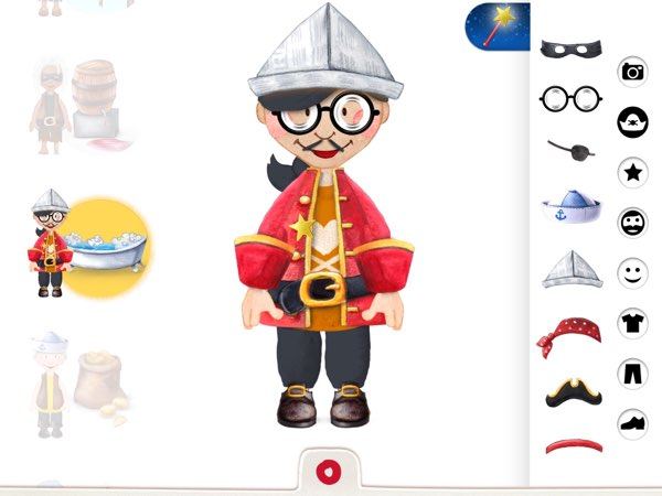 Tiny Pirates also have a Pirates Studio where you can customize the looks and appearances of all 13 crew members on your ship.
