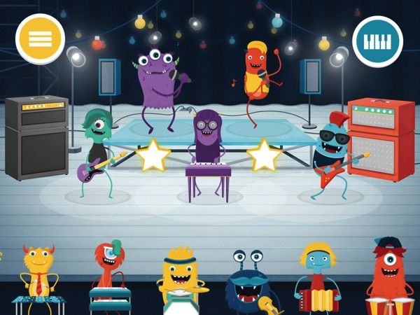 Even though the band only plays one song, you can mix and match monsters to get different sounds