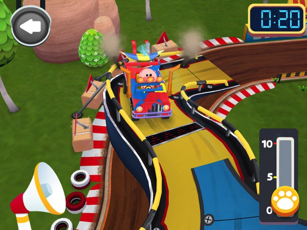 Build your own car and race against your favorite Dr. Panda character in Dr. Panda Racers