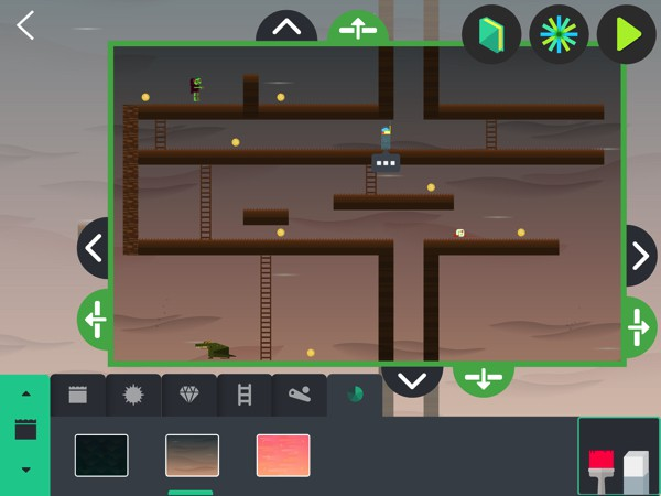 Kids design and make their own video game in Infinite Arcade