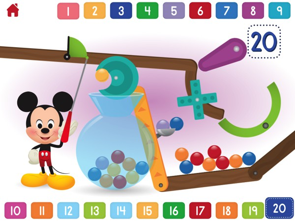 The Activities in Disney Buddies apps are simple and suitable for ages 5 and under