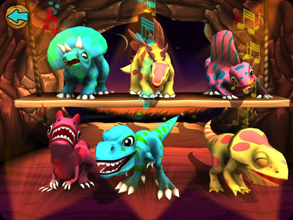 Dino Tales Jr offers six fun mini games that are especially designed to keep young minds creative