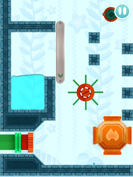 Busy Water has 105 pre-built levels with three different sceneries and plenty of game elements to try.