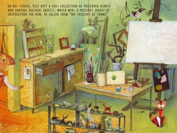 In ExplorArt Klee, kids explore the life and works of Swiss-German artist Paul Klee