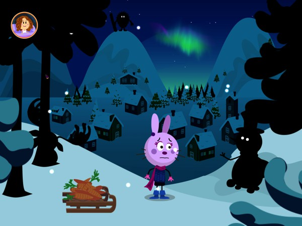 The app empowers kids to take control of their fear by performing a simple action: turning on the lights to shed light on the shadows