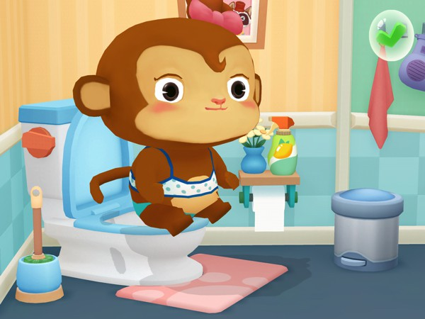 Dr. Panda Bath Time teaches kids good hygiene habits through fun educational activities