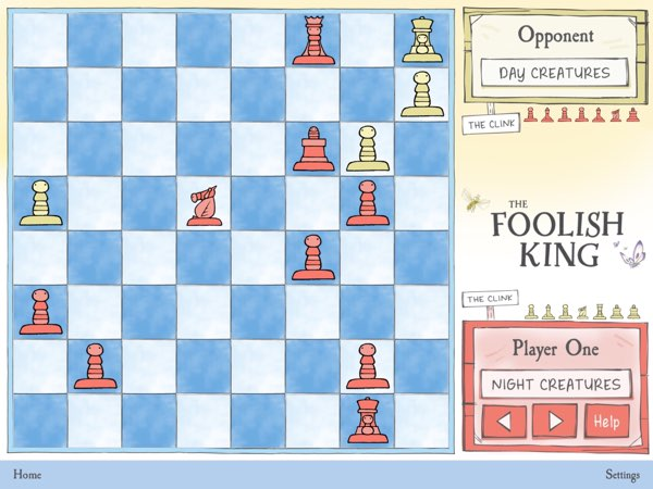 I'm not much of a chess player, but I think the easy AI opponent is quite challenging, even for adults.