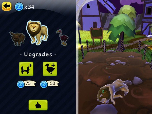 Every time kids set the clock correctly, they collect in-game coins that can be used to unlock new animals and upgrade their pens