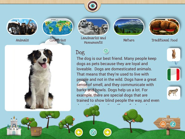 Wikids is a kid-friendly encyclopedia that contains over 190 entries on various topics like animals, space, and many more