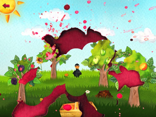 The Orchard by HABA is a board game designed for kids ages three and up