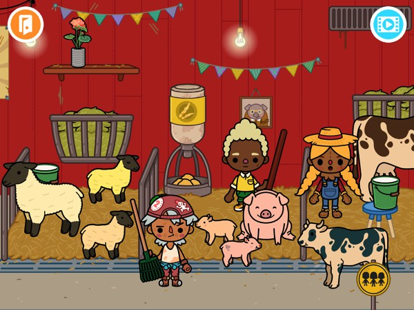 In Toca Life: Farm, kids can discover what life is like on the farm