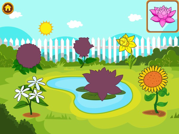 Learn the names of various flora and fauna and their associated sounds