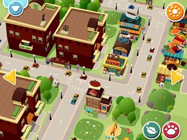 Hoopa city 2 allows kids to build their dream city with 60 unique buildings