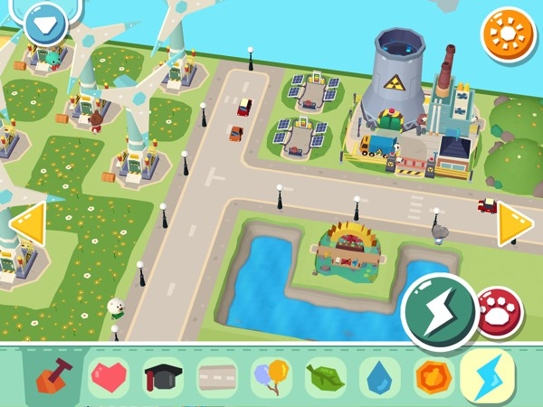 Build factories, power plants, and more with the Electricity material
