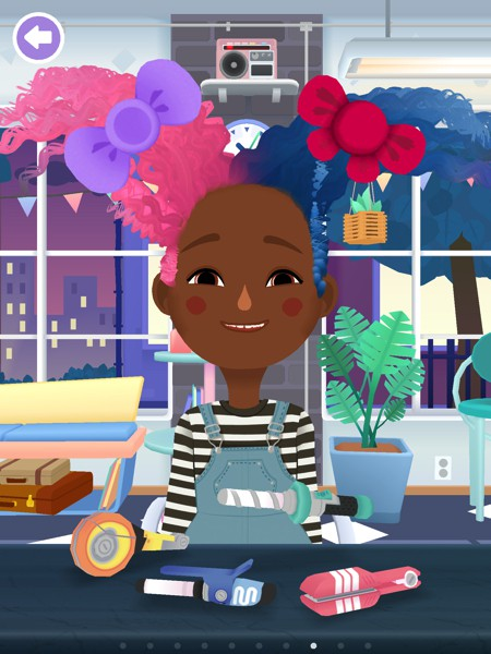 Toca Hair Salon 3 adds diverse characters and new tools for more creative, hairstyling fun.