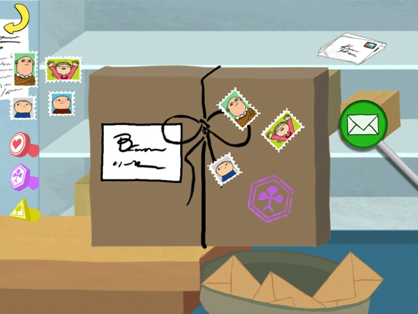 Complete chores and collect rewards to unlock more buildings