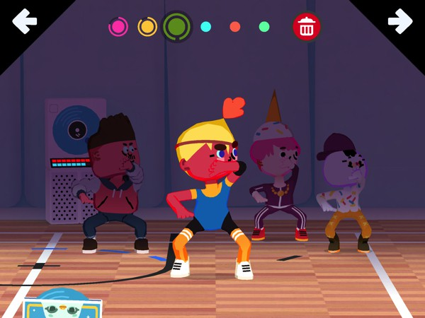BEST DANCE APP FOR FOUR-YEAR-OLDS: Toca Dance lets kids choreograph their own dance routines