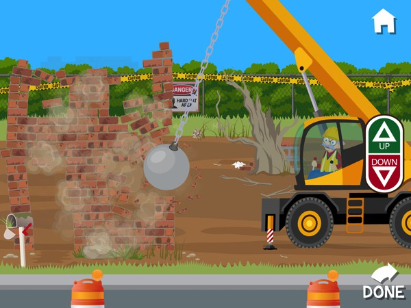In Build with Grandpa, kids can learn to build a house from the ground up
