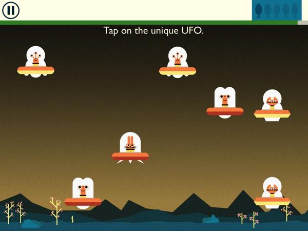 Play six unique brain games in Galactic Genius with Astro Cat