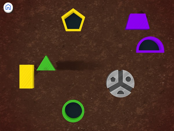 Busy Shapes & Colors is a fun app in which preschoolers and toddlers can learn about 11 different shapes and colors