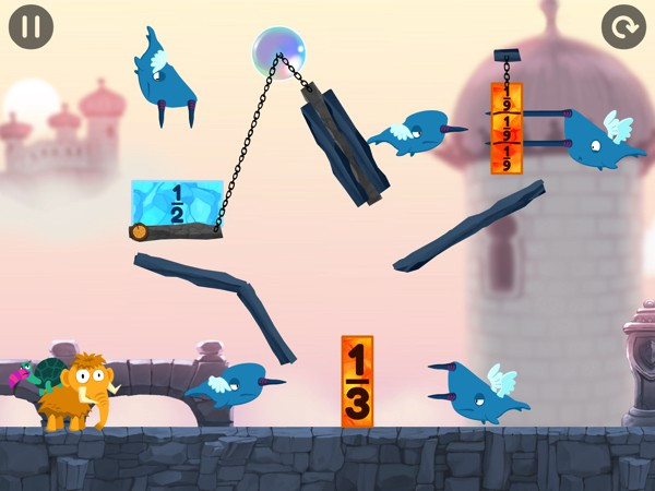 Kids slice and dice their way through 100+ physics puzzles set across three unique worlds