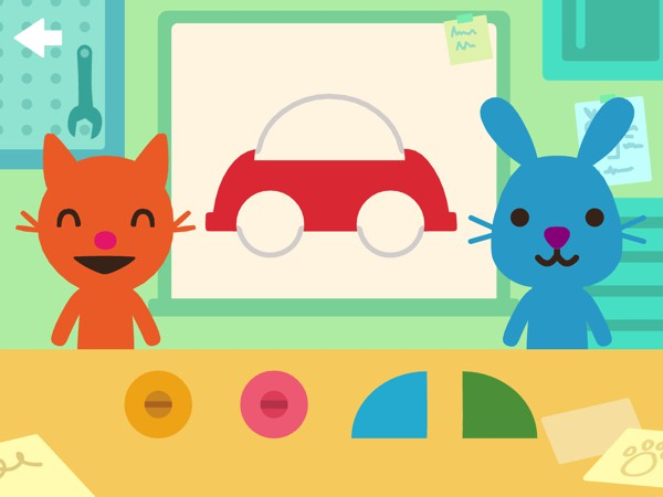 Solve puzzles together and hone hand-eye coordination
